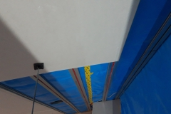 Deckenheizungmontage in Trockenbau